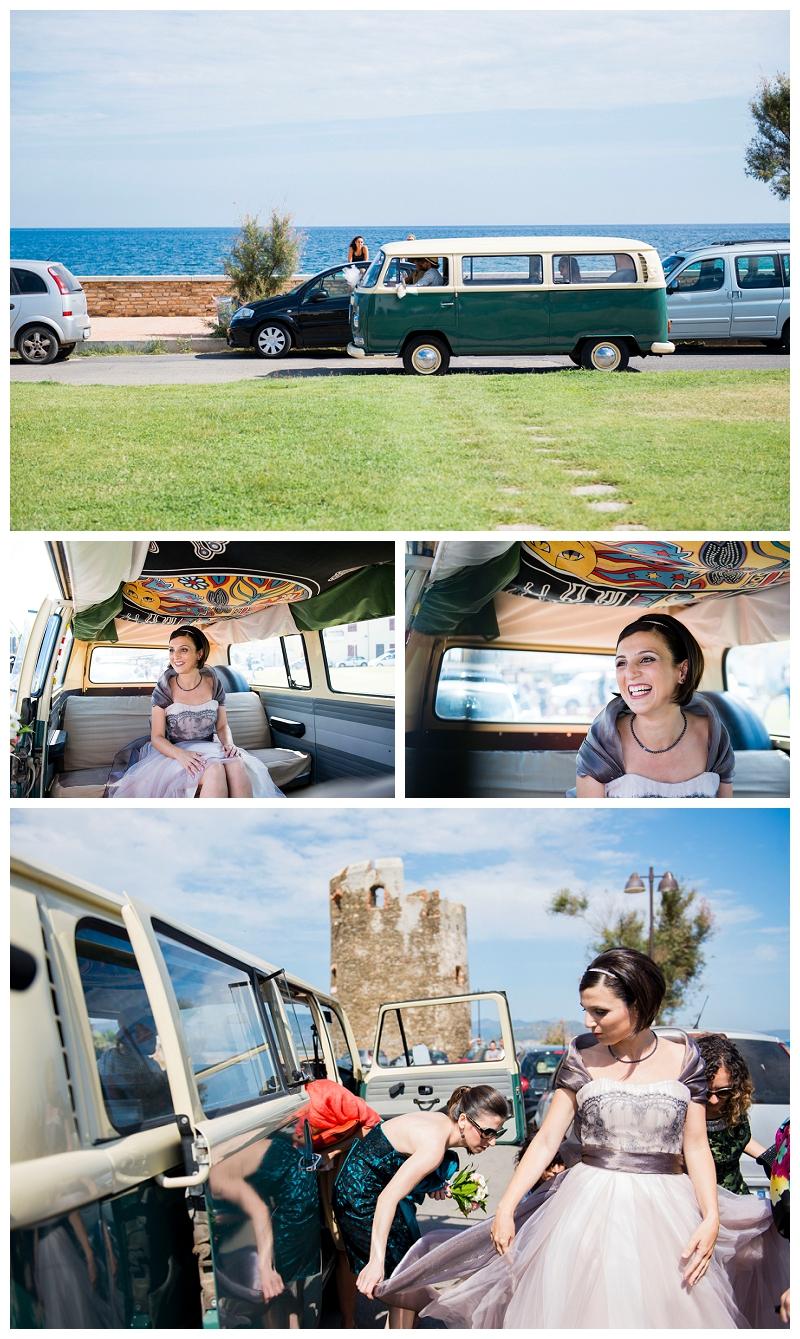 Pulmino Volkswagen Matrimonio