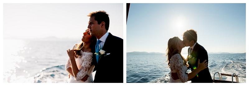 Foto matrimonio esclusivo Capo Coda Cavallo