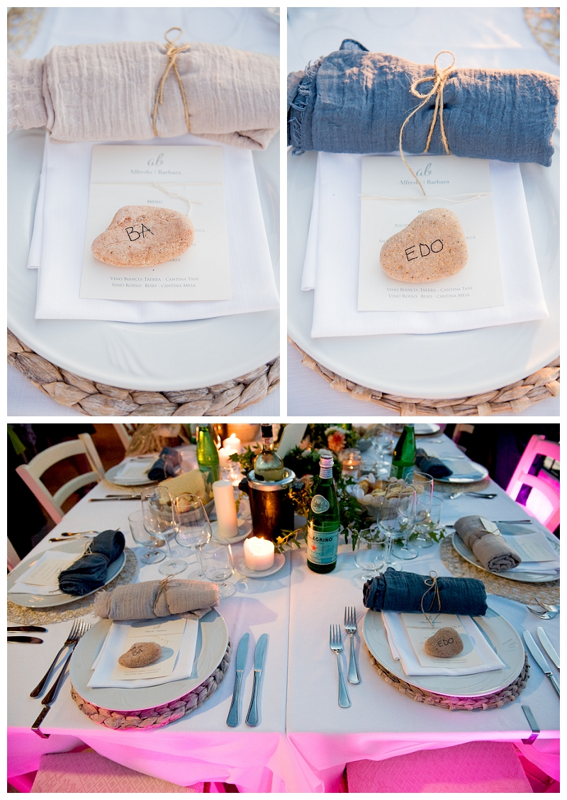 Dettagli Matrimonio Ristorante Punta Est