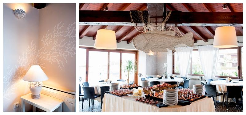 Matrimonio esclusivo ristorante Il Marino