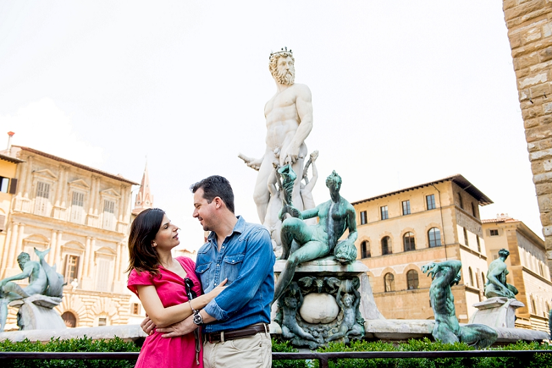 Fontana Nettuno Firenze