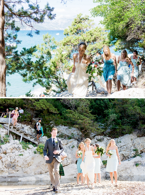 Sposarsi spiaggia Cala Luna
