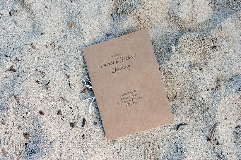 Rito civile spiaggia Dorgali