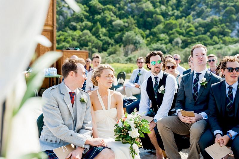 Matrimonio scozzese Cala Luna
