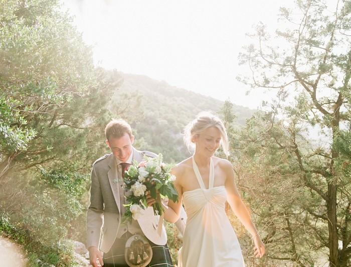 Matrimonio in spiaggia in Sardegna a Cala Luna Dorgali - James & Rachel