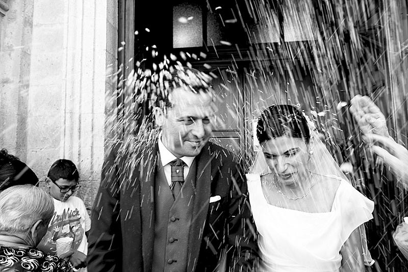 Lancio riso matrimonio Ozieri