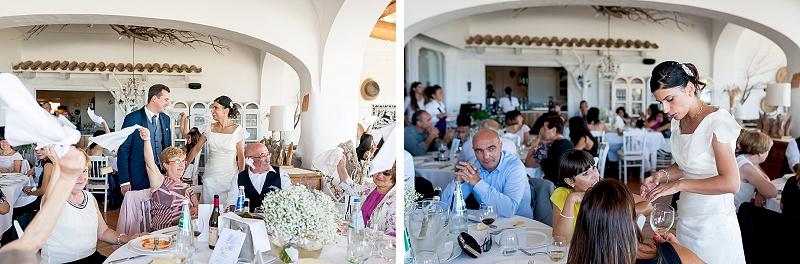 Sala ricevimenti matrimonio Porto Rotondo