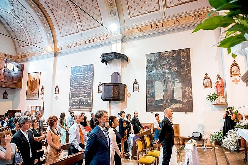 Nozze chiesa cappuccini Oristano