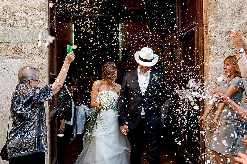 Lancio riso Matrimonio Oristano